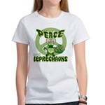 Peace Love And Leprechauns Women's T-Shirt