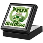 Peace Love And Leprechauns Keepsake Box