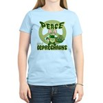 Peace Love And Leprechauns Women's Light T-Shirt