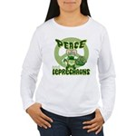 Peace Love And Leprechauns Women's Long Sleeve T-S