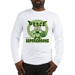 Peace Love And Leprechauns Long Sleeve T-Shirt