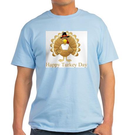Happy Turkey Day Light T-Shirt