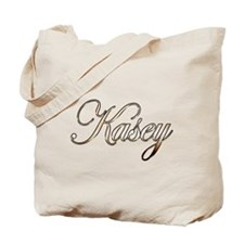 Gold Kasey Tote Bag