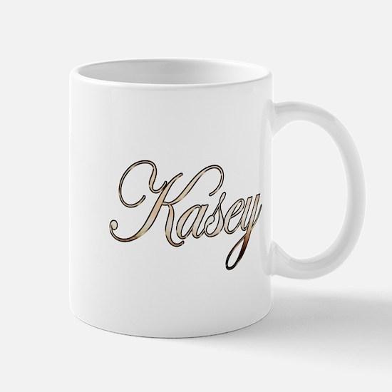 Gold Kasey Mug