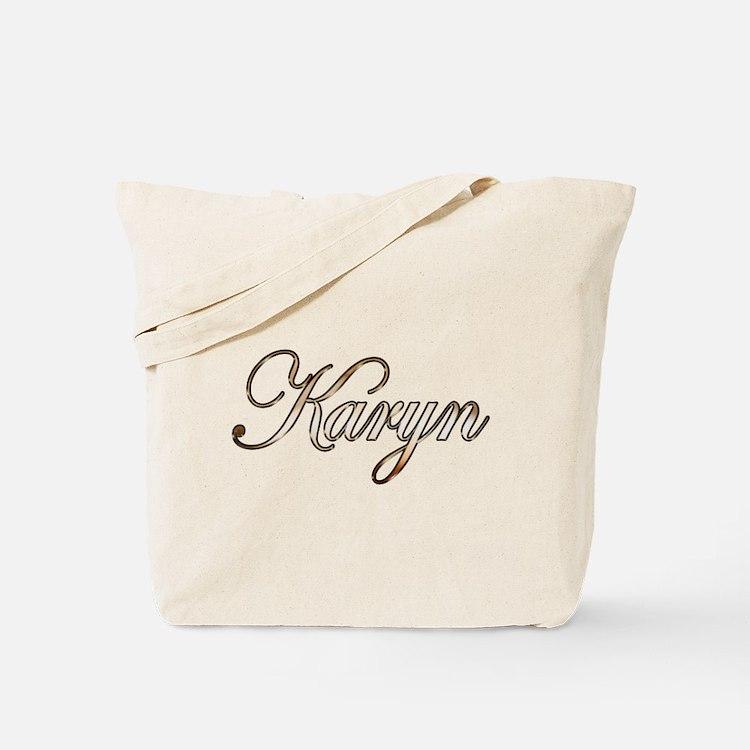 Gold Karyn Tote Bag