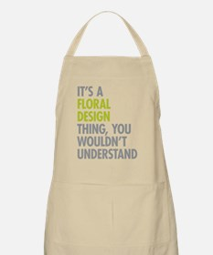Floral Design Thing Apron