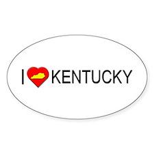 I love Kentucky Oval Decal