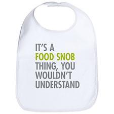 Food Snob Thing Bib