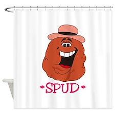 Spud Potato Shower Curtain