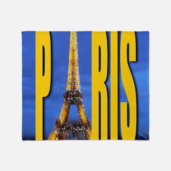 PARIS GIFT STORE PRO Throw Blanket