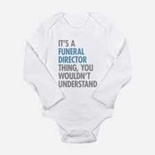 Funeral Director Thing Body Suit