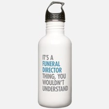 Funeral Director Thing Water Bottle