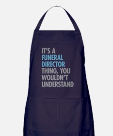 Funeral Director Thing Apron (dark)