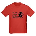 OK...Who Invited the Flying M Kids Dark T-Shirt
