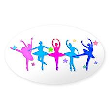 Ballet Sillouettes Bumper Stickers