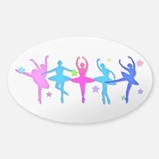 Ballet Sillouettes Decal