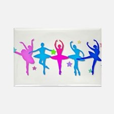 Ballet Sillouettes Magnets