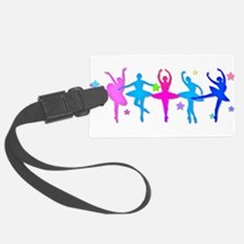Ballet Sillouettes Luggage Tag