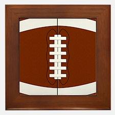 Football Framed Tile