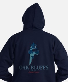 Oak Bluffs - Martha's Vineyards. Hoodie