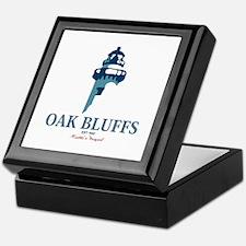 Oak Bluffs - Martha's Vineyards. Keepsake Box