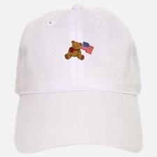Teddy Flag Baseball Baseball Baseball Cap