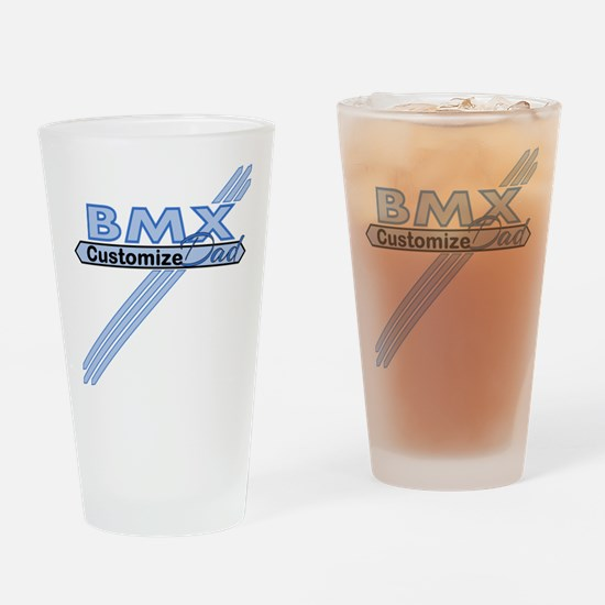 BMX Dad Drinking Glass