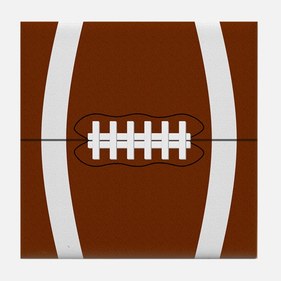 Football Tile Coaster