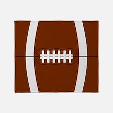 Football Throw Blanket