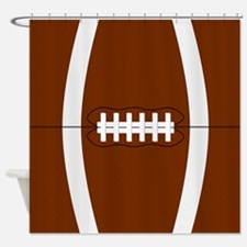 Football Shower Curtain