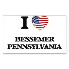 I love Bessemer Pennsylvania Decal