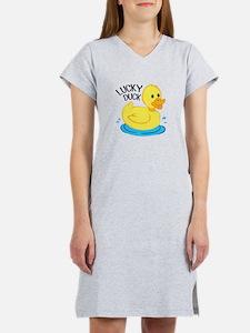 Lucky Duck Women's Nightshirt