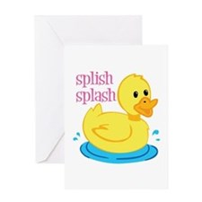 Splilsh Splash Greeting Cards