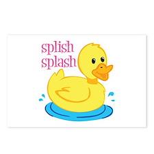 Splilsh Splash Postcards (Package of 8)