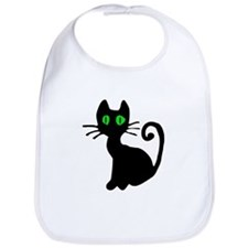Black Cat Bib