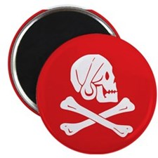 "Henry Every red 2.25"" Magnet (100 pack)"