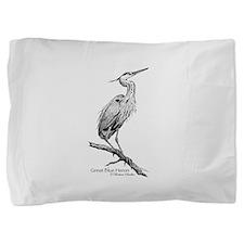 Great Blue Heron Pillow Sham