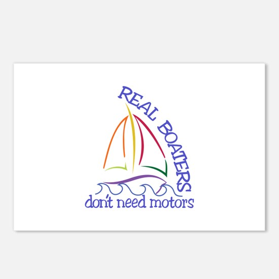 Real Boaters Postcards (Package of 8)