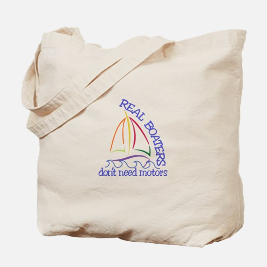 Real Boaters Tote Bag