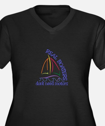 Real Boaters Plus Size T-Shirt