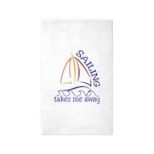 Sailing Takes Me Away Area Rug