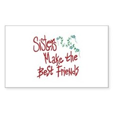 Sisters Best Friends Decal
