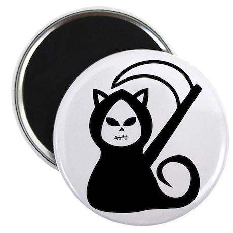 "Grim Kitty 2.25"" Magnet (10 pack)"