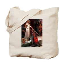 The Accolade & Cavalier King Trio Tote Bag