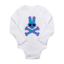 Unique Cute skull Long Sleeve Infant Bodysuit