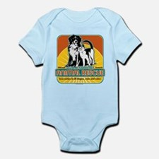 Animal Rescue Dog and Cat Infant Bodysuit