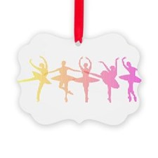Ballerina Colors Ornament