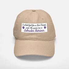 God Gave Me A Labrador Retriever Baseball Baseball Cap