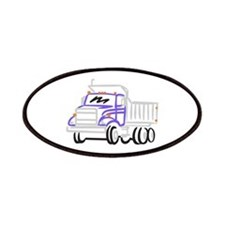 Abstract Dump Truck Patch