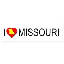I love Missouri Bumper Bumper Sticker